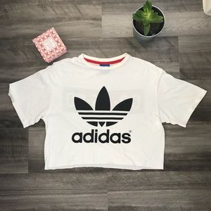 Adidas/Topshop Crop Top
